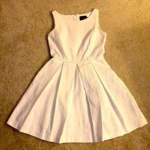 Just Taylor Summer Dress Sleveless White